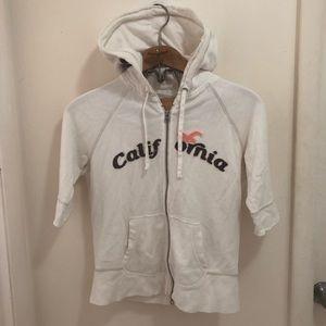 Hollister half sleeve California hoodie